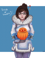 Mei wants your sweets by GumlBall