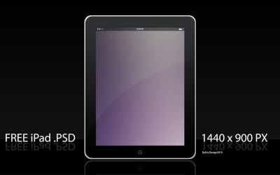 Free ipad template by 3DEricDesign