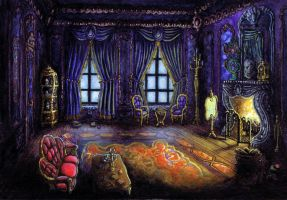 Rococo Room by Benjamin-the-Fox
