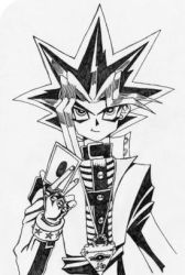 Yu-gi-oh Sketch by l3xxybaby