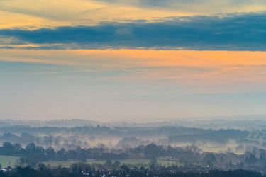 Early morning in Boxhill by Mentos18