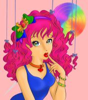 Candy Lucy Coloring Contest Entry by Arty-Kyn