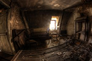 The bedroom by Deadcam