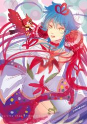 -- Colored sketch: Mahou Shoujo Aoba -- by Kurama-chan