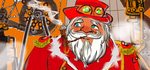Steam punk Santa by GeorgieGanarf