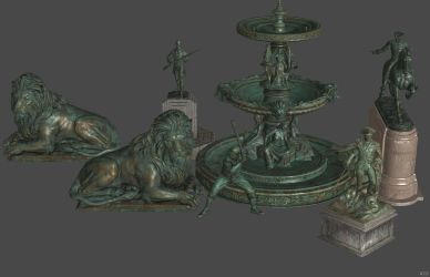 'Fallout 4' Statues XPS ONLY!!! by lezisell