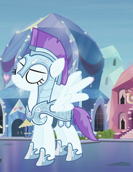 Snowy Flakes In Armor by TheMinecraftFriends2