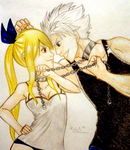 Natsu and Lucy by MalaMi95