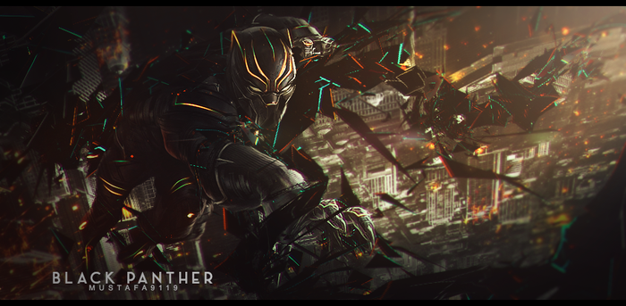 Black Panther by Mustafa9119