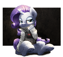 Rarity with FROST Suit by Meruprince
