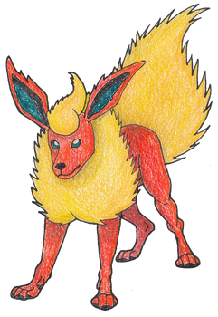 #136 Flareon by AbsoL-G