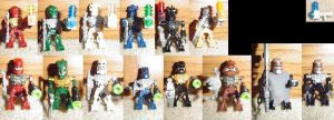 Bionicle 2006 Minifigures + by bobrox15