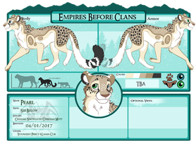 EBC Application Pearl the Troublemaker by CCDooMo