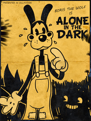 Bendy and the Ink Machine - Boris the Wolf by theEyZmaster