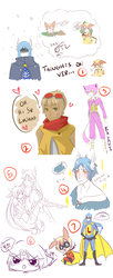 LUCIANO'S FML LIFE SKETCH DUMP by Maylingling