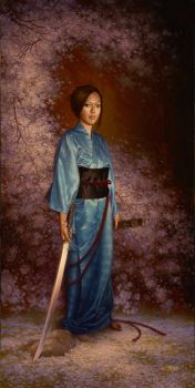 The BlueKimono by chvacher