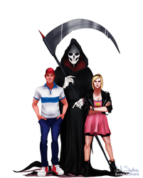 All Grown Up: Billy and Mandy by IsaiahStephens