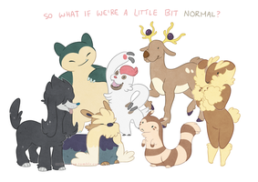 What is this /normal/ you speak of? by Kium