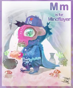 M is for Mindflayer by Nezart