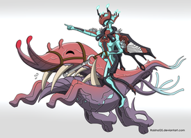 Warframe - Onward Trusty Steed! by RaishaGS