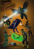 The Cursed Halloween 07 by 13blackdragons