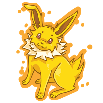 Jolteon by mechanicalmasochist