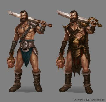 Barbarian by Montjart