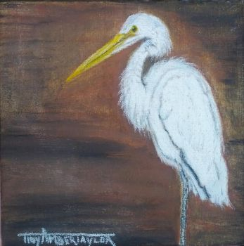 Egret - SOLD by Orchid-Black