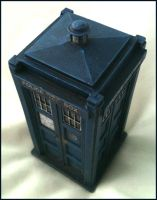 Hartnell Tardis miniature 2 by gfoyle