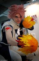 Natsu cosplay with new suit (1) by rascret