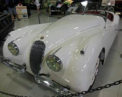 1953 Jaguar XK120 Convertible by rlkitterman