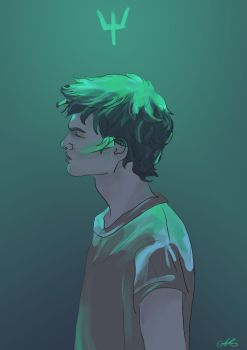 Percy Jackson by grecioslaw