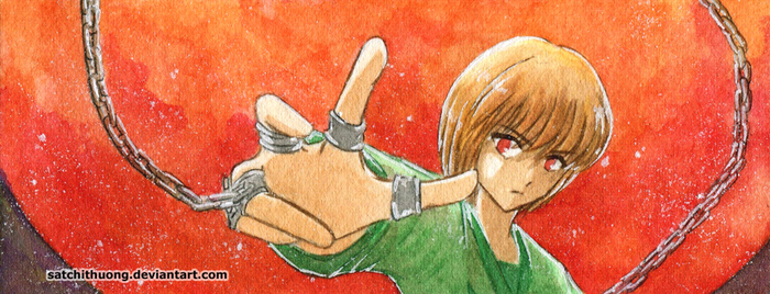 Kurapika bookmark 03 by satchithuong