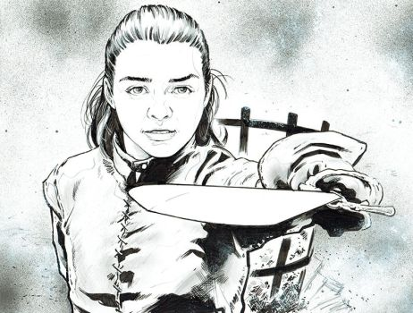 Arya Stark by jasonbaroody