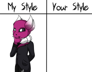 My Style VS Your Style: Grimmis (READ DESC) by KATEtheDeath1