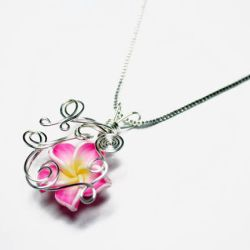 Wire Wrap Perfume Pendant 2 by Create-A-Pendant