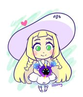 Chibi Lillie and Nebby by sssonny