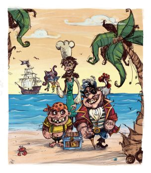 The Pirates! by Tatiks