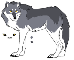 Silver Wolf by Adoptable-Central