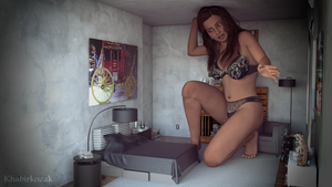 Vanessa Outgrowing Bedroom by Khabirkozak