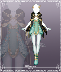 [Close] Adoptable Outfit Auction 215 by LifStrange