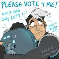 Vote for Baby Pillbuggy - it's his last chance! by zillabean