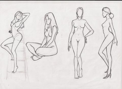 female body studie by ultraseven81