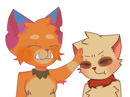 Teemo And Gnar by Yossseline