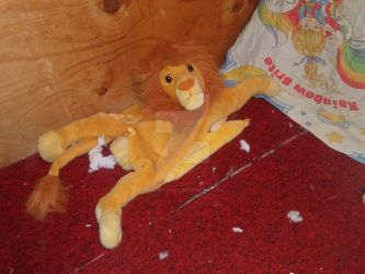Torn Up Lion 1 by Plush-Artist