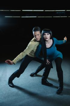 StarTrek-Cosplay-Spock-Kirk by UltraCosplay
