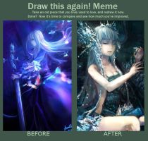Meme: Before and After by tsunoh