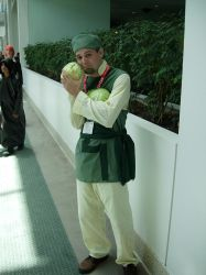 Cabbage Guy Cosplay by Peepsicle