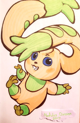 [Digimon] Terriermon Flop by Cascade-Kirby