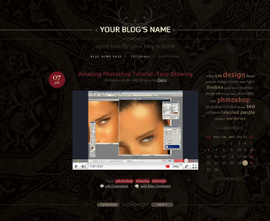 Blog template by blackblurrr